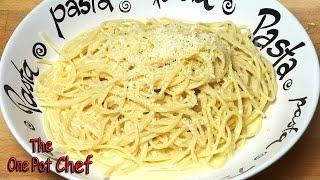 Creamy Lemon Spaghetti - Recipe
