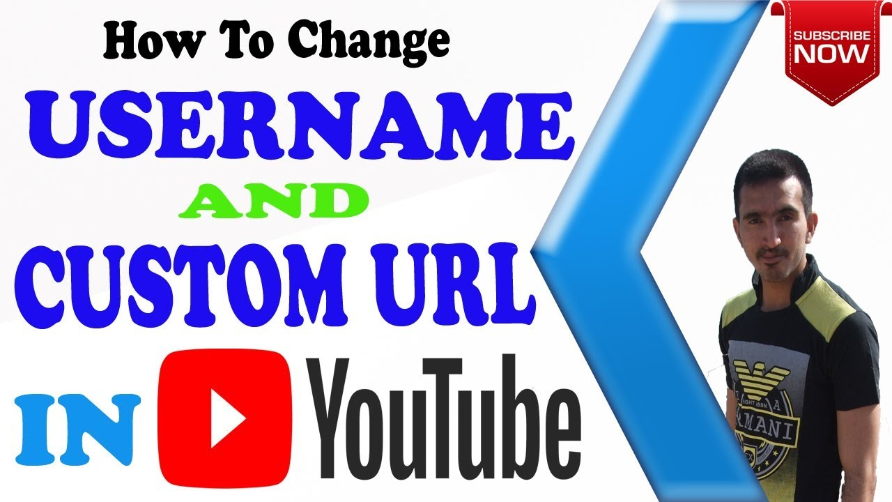 how to get a custom yotube url