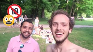 شاطئ خادش للحياء في ألمانيا 😱 | فلوق ميونخ
