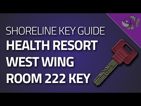 West Wing Room 222 Key - Key Guide - Escape From Tarkov