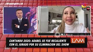"""""""Sentí que estábamos para más"""", Adabel Guerrero explicó lo que le molestó del jurado del Cantando"""