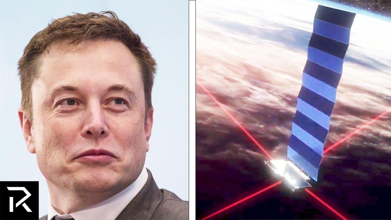 Elon Musk's  Billion Dollar Internet Project