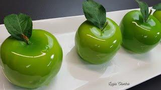 Como Fazer Sobremesa Em Forma De Maçã Com Glaçagem