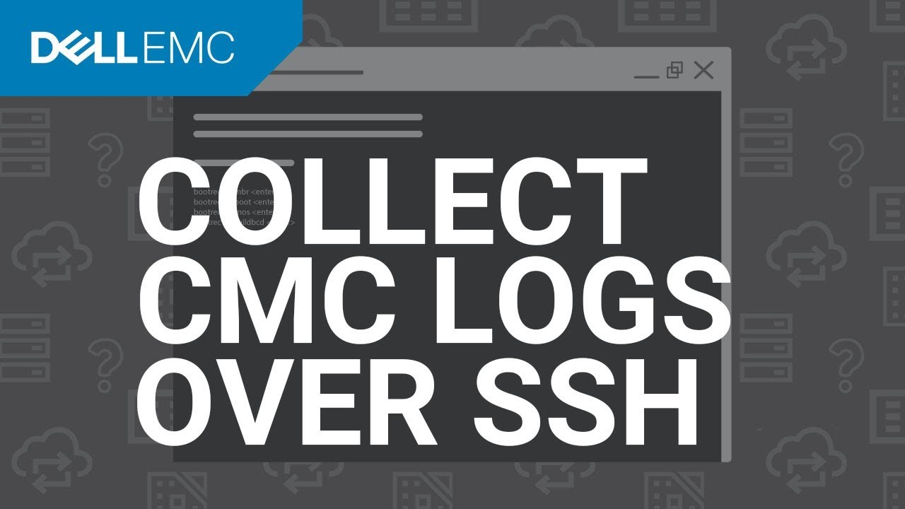 Collect CMC Logs over SSH