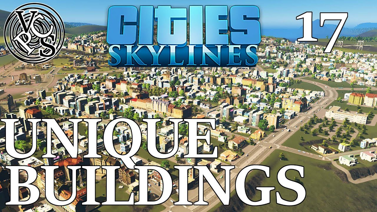 Cities Skylines No Vanilla Buildings