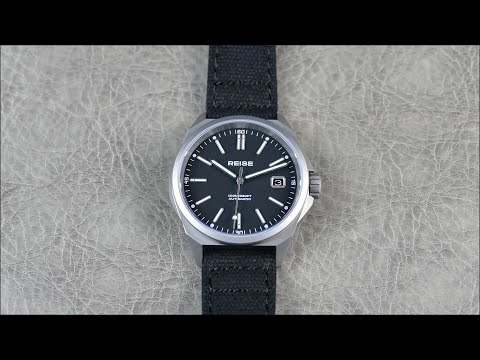 On the Wrist, from off the Cuff: REISE – RESOLUTE; Prototype Preview, AWESOME New Titanium Watch!