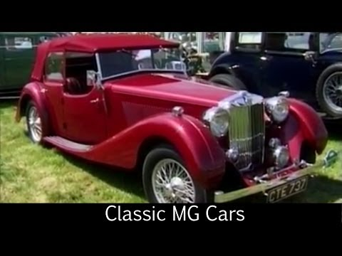 Classic MG Cars by The Great British Channel
