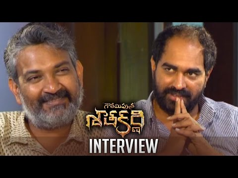 SS Rajamouli Interviews Krish About Gautamiputra Satakarni | Interesting Interview | TFPC