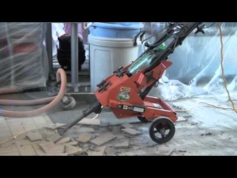 Cts12 Rip R Stripper Demo Removing Tile Youtube