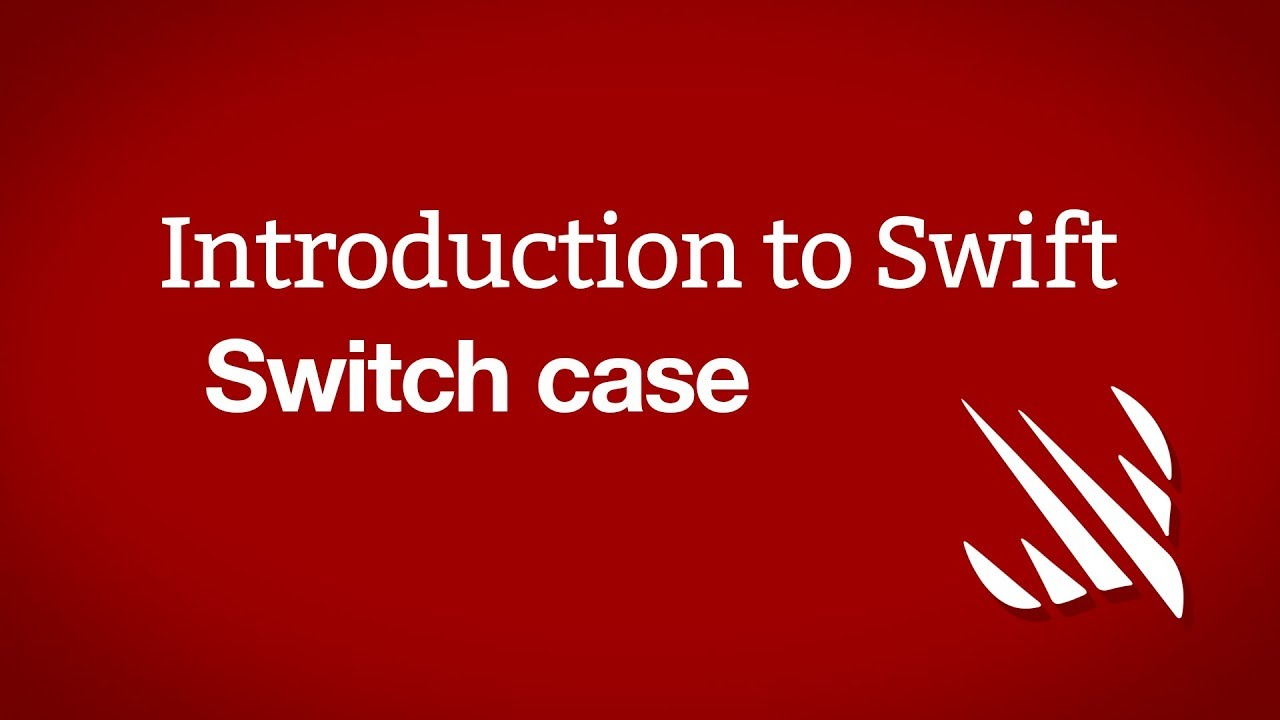 Switch case - a free Hacking with Swift tutorial