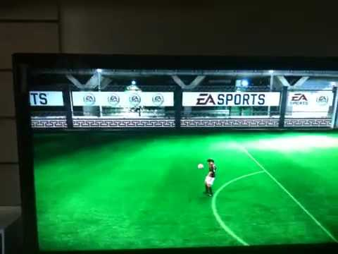 Fifa 09 Bicycle Kick In Training - Awesomeness!