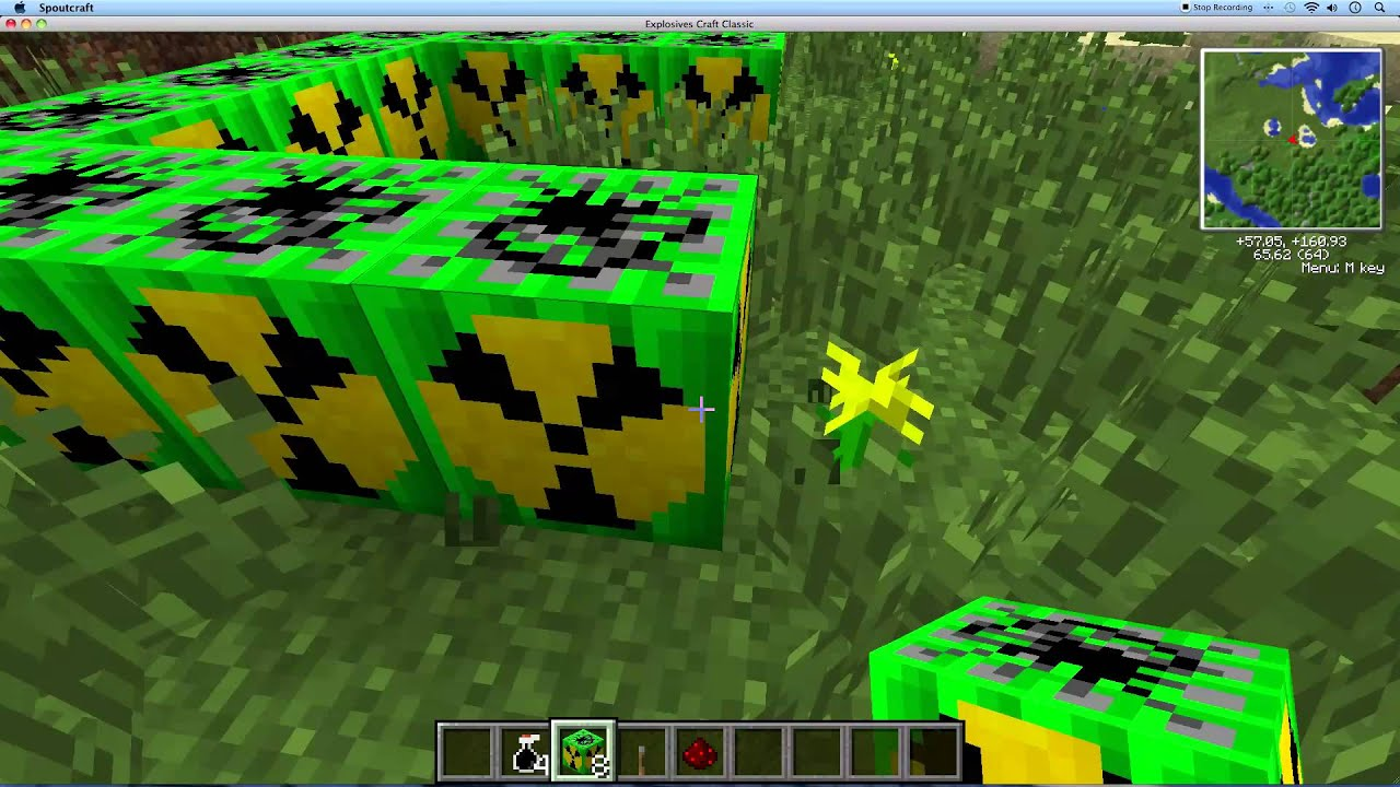 100 Nuclear Bomb Explosion Minecraft YouTube