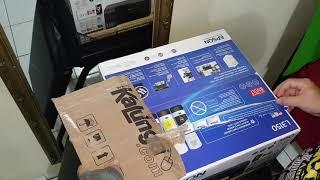 Unboxing da Impressora Epson L3150