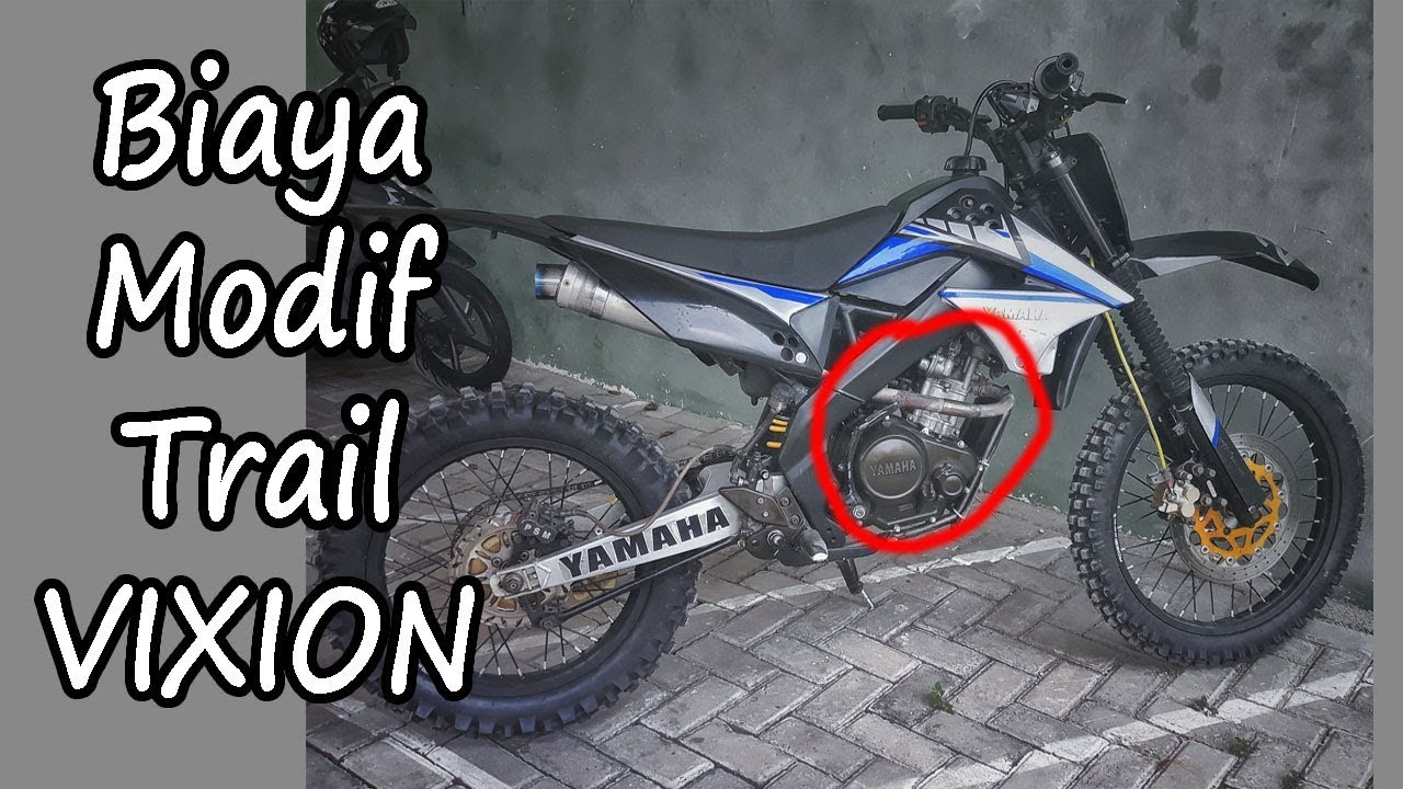 Modifikasi Vixion Jadi Trail Ala Supermoto Part I Kharis27