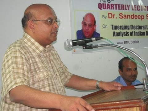 CPPR Quarterly Lecture by Dr. Sandeep Shastri (prominent Political Scientist)