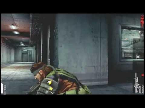 MGS Peace Walker - Heavens Divide Gameplay