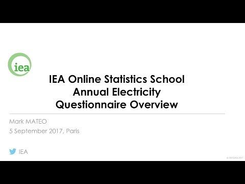 IEA Webinar : Electricity and Heat