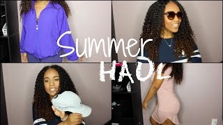 SUMMER HAUL 2016 | FT. StyleWe, Forever21, Love Culture, Thrift Store