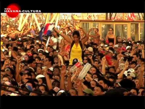 Calle 13 en la Habana, Cuba - Part 1 [ Havana Cultura ]