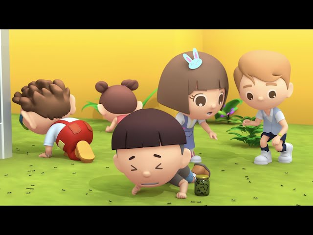 第十二集「螞蟻搬家」—【咚咚仔3D動畫系列】第二季