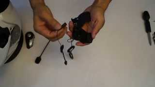 sena 20s how to video helmet installation