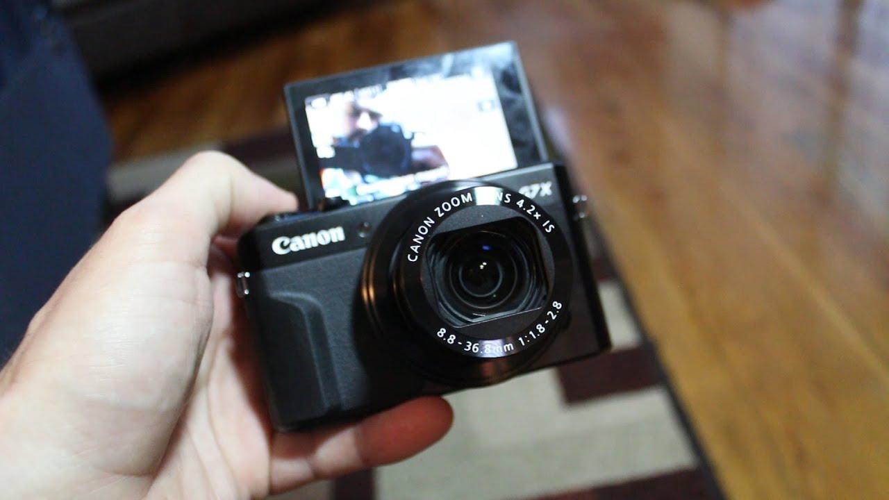 New VLOG Camera (Canon G7X Mark II) - YouTube