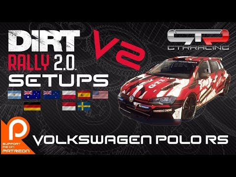 Wales update link in description | Volkswagen Polo R5 | SETUPS V2 | NO Assists | All 9 Locations