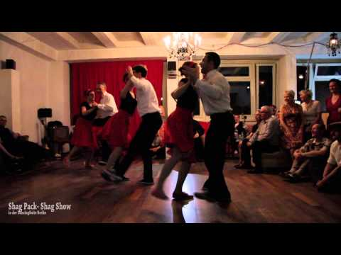 Shag Pack - at the Shag it Weekender 2015 - Show in DancingSuite Berlin