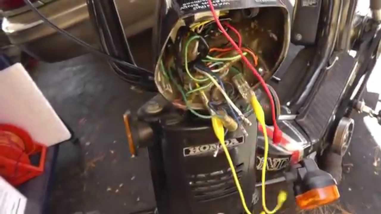 14 Honda Pa50ii Hobbit Headlamp Light Bulb Led Upgrade Youtube 1982 Express Wiring Diagrams Electrical