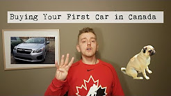 Buying your first car in Canada