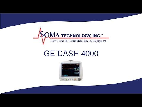 GE DASH 4000 - Soma Technology, Inc