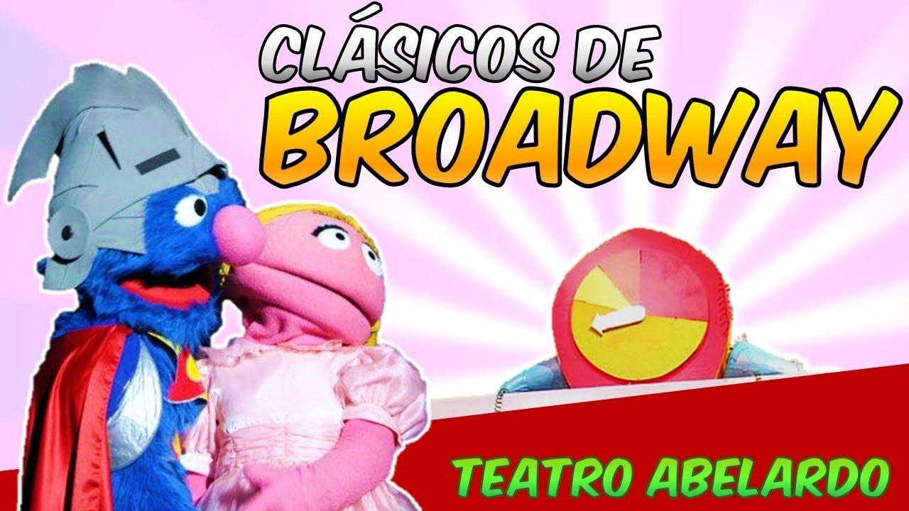 clasicos de broadway 1 1 parque plaza sesamo
