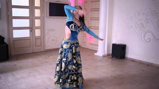 Indian dance by Anjali Ross. Guru - Tere bina song.