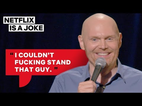 Bill Burr Is Glad Stephen Hawking Is Dead   Netflix Is A Joke