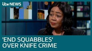 Pastor Lorraine Jones: Swap political squabbles for action over knife crime   ITV News