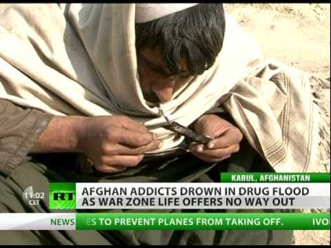 Export of Mass Destruction: Afghan addicts drowning in drug flood
