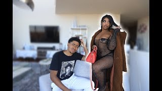 I WORE A SCANDALOUS OUTFIT TO SEE HOW MY FIANCÉ WOULD REACT!!!