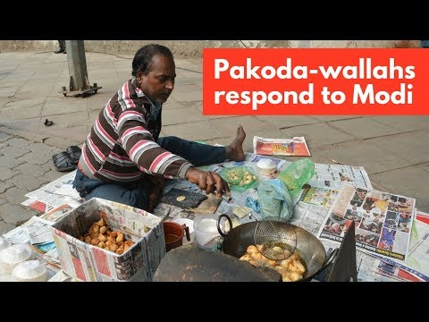 Pakoda-wallahs respond to Modi's statement on employment