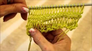 Repeat youtube video Knitting by Hobby Lobby Mavromatis (Πλέξιμο με βελόνες)