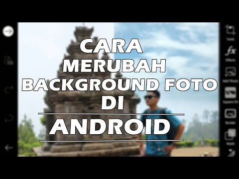 Cara Edit Foto Merubah Background Foto di Android, Picsart