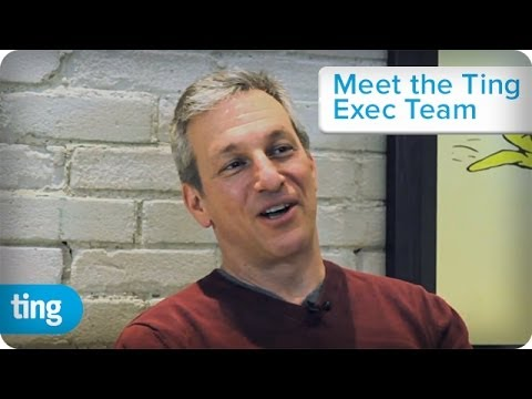 Elliot Noss, CEO of Tucows | Meet the Ting Exec Team | Ting
