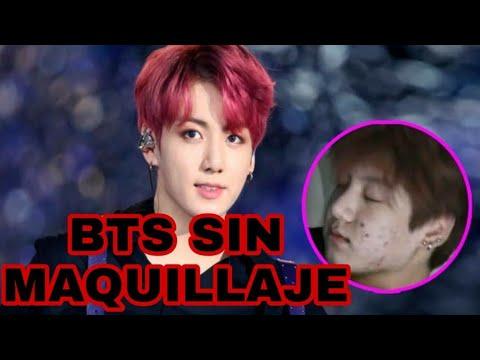 BTS SIN MAQUILLAJE 2019 - YouTube