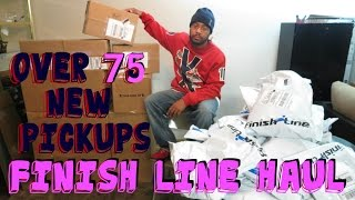75 NEW PICKUPS BIGGEST FINISH LINE HAUL EVER (@SCOOP208) @FinishLine