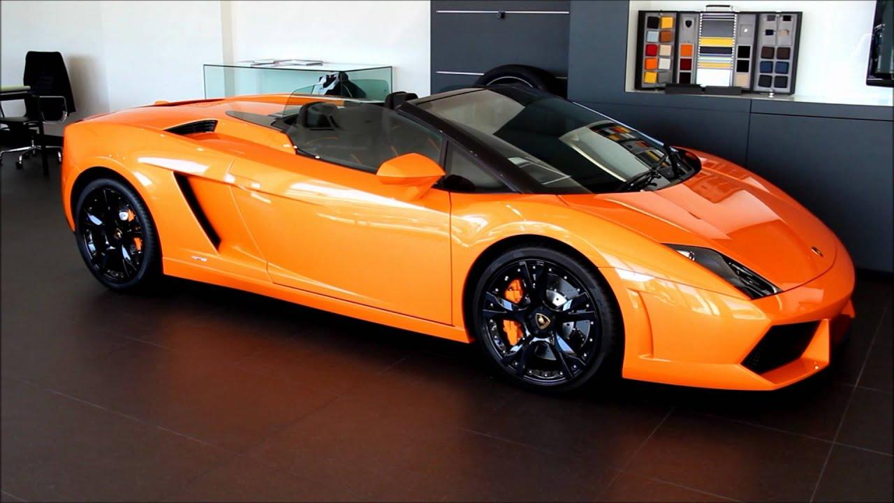 Merveilleux Lamborghini Gallardo LP560 4 Spyder   YouTube