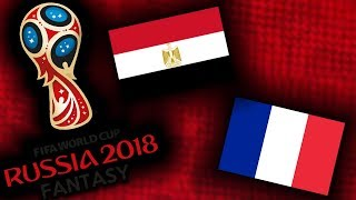 2018 RUSSIA FANTASY VB | EGYIPTOM - FRANCIAORSZÁG