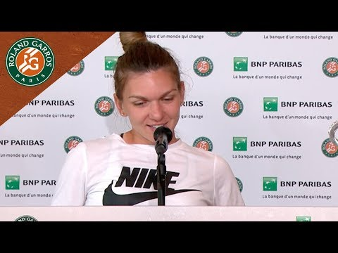 Simona Halep - Press Conference after Final I Roland-Garros 2018