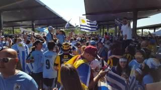 Uruguayan fans Copa America