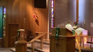 17th Sunday after Pentecost, Good Shepherd Lutheran Church, LC-MS, Two Rivers, WI, Rev William Kilps