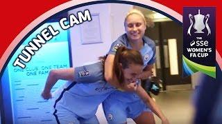 Tunnel Cam - Birmingham vs Manchester City - SSE Women's FA Cup Final   Inside Access