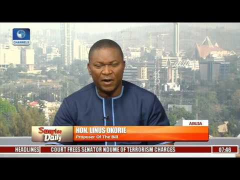Economy Amnesty Bill Will  Empower Nigeria's Tax Net, Not Haven For Looters-- Linus Okorie Pt 1